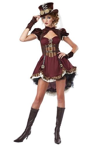 Steampunk Kostüm Damen